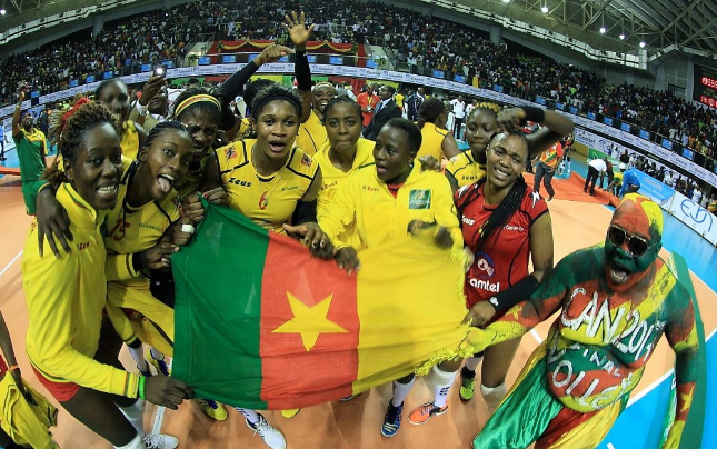Cameroon Upset Kenya to claim Volleyball crown