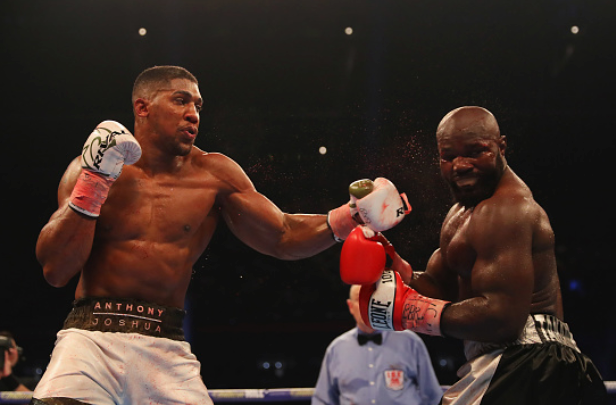 Anthony Joshua defeats Carlos Takam with tenth round TKO