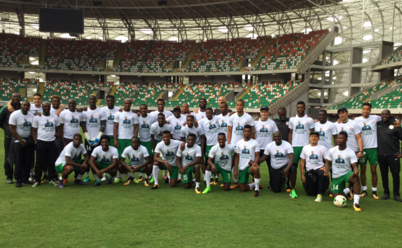 Promise Kept! Super Eagles Dedicate World Cup Ticket to Carl Ikeme