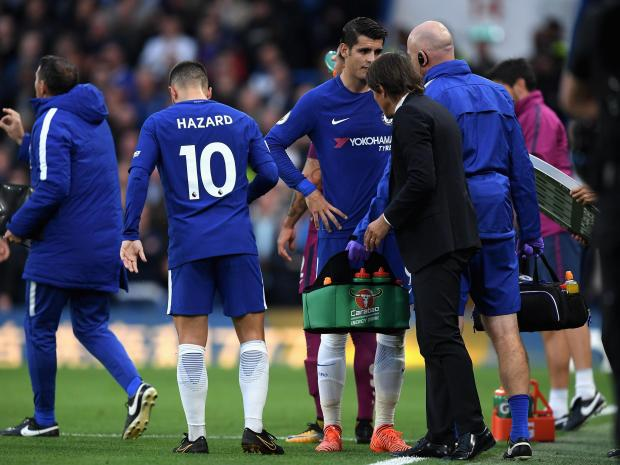 Antonio Conte plays down Morata injury fears as he admits Chelsea were beaten by better side Manchester City