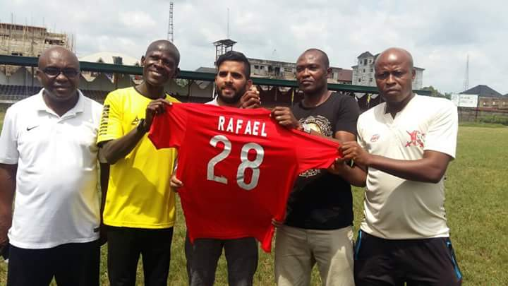 RAFAEL EVERTON SETS CONTINENTAL TICKET TARGET FOR ABIA WARRIORS