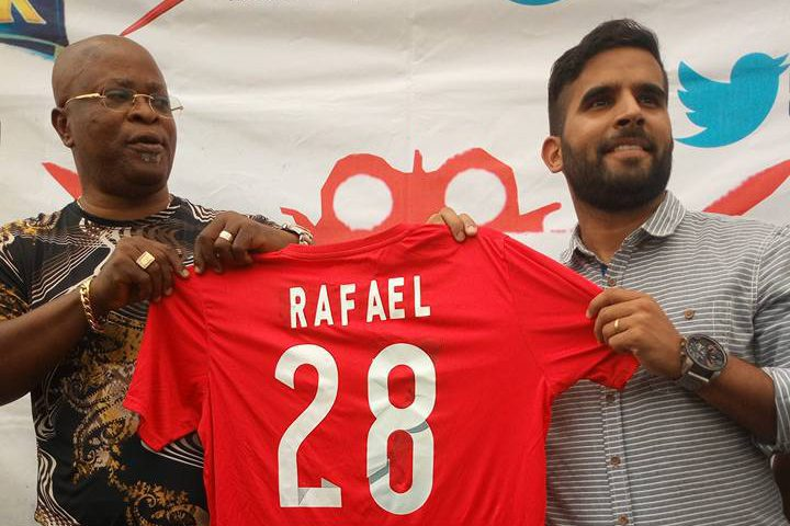 NPFL: Abia warriors unveils Brazilian tactician, Rafael Everton as new manager