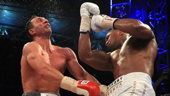 Anthony Joshua: I'll fight Deontay Wilder next year
