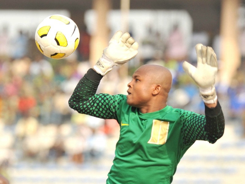 Eagles number one Goalkeeper Ezenwa joins Enyimba