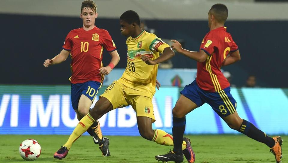 Under-17 World Cup: Spain beat Mali to reach final