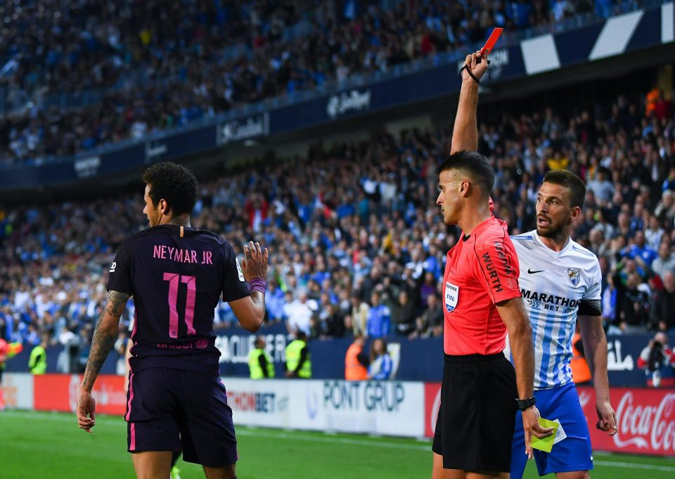 Neymar sees red as PSG drops point against Marseille