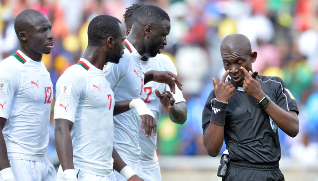 Banned referee, Joseph Lamptey apologises to Senegal