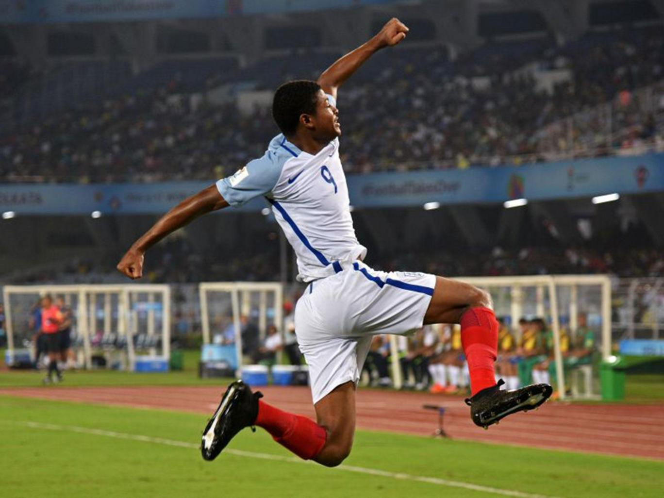 England U-17s in World Cup final as Liverpool striker, Rhian Brewster bags hat-trick against Brazil