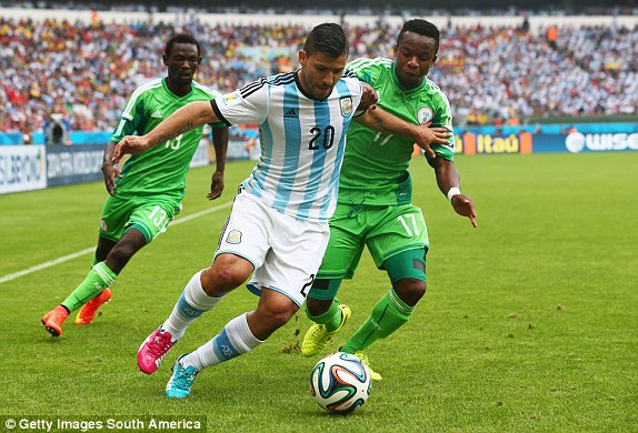 Sergio Aguero tops Argentina squad for Eagles friendly as Higuain misses out again