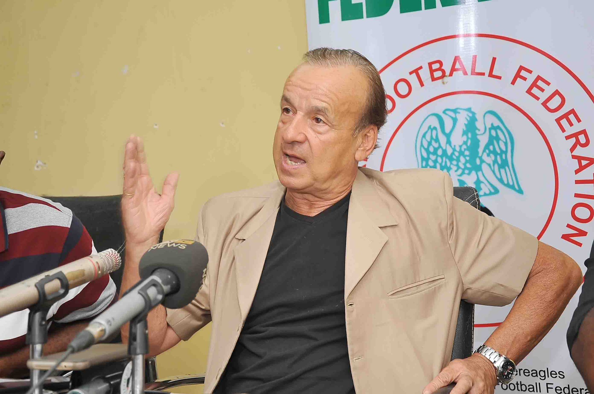 Expect new faces! Rohr to name 24 players for 2019 AFCON qualifier vs Seychelles