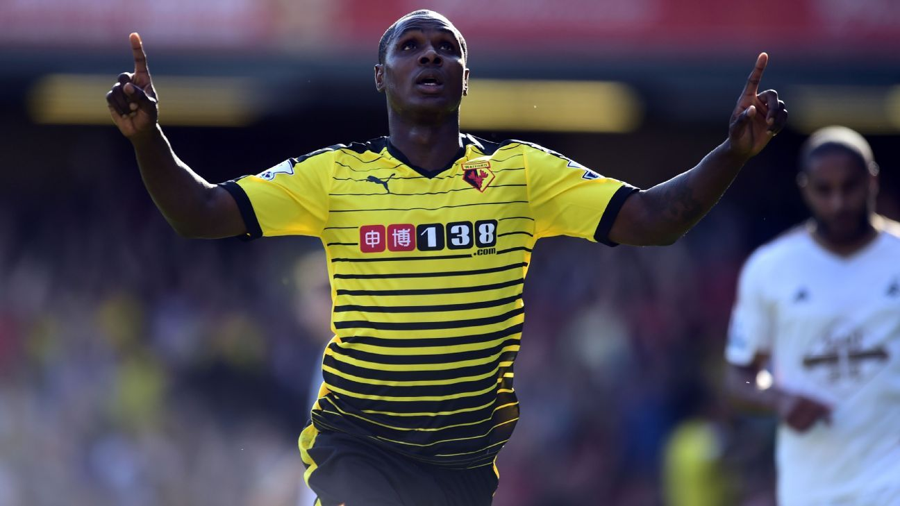 Lack of playing time forced me out of Watford – Ighalo