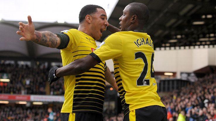 Stoke City eyes up former Watford striker, Ighalo