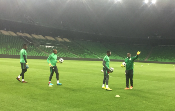 Ezenwa can improve! Peter Rufai backs under fire Goalie