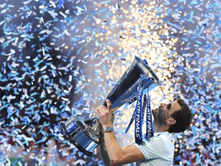 Dimitrov wins ATP Finals
