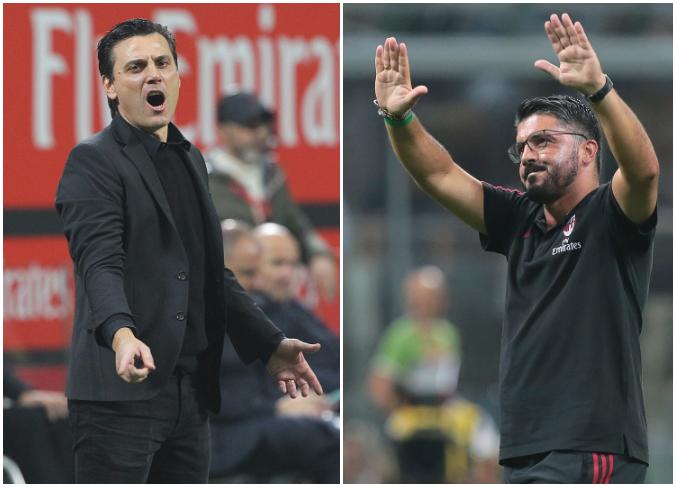 AC Milan sack Montella, name Gattuso as replacement