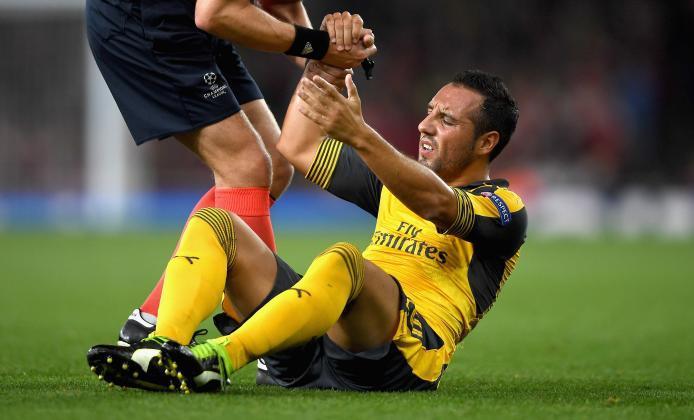 Report: Arsenal's Santi Cazorla undergoes ninth surgery on same injury