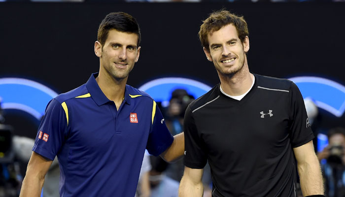 Tennis: Andy Murray, Djokovic, fall out of ATP Top 10