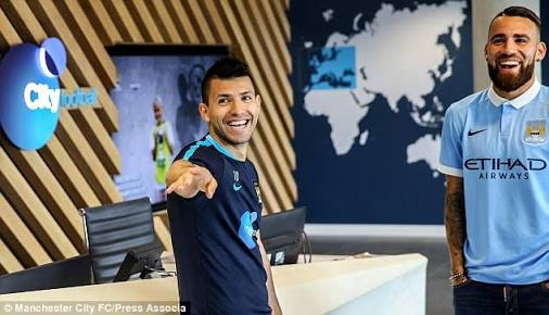 Manchester City pair, Aguero, Otamendi, others to arrive Moscow on Monday ahead of Nigeria clash