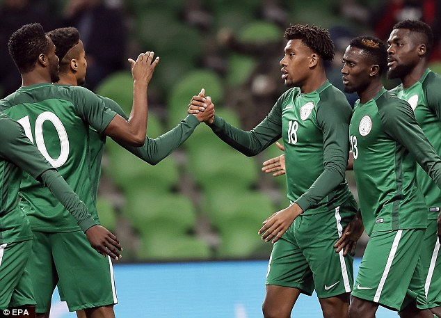 NFF Chief hails Super Eagles' youngsters
