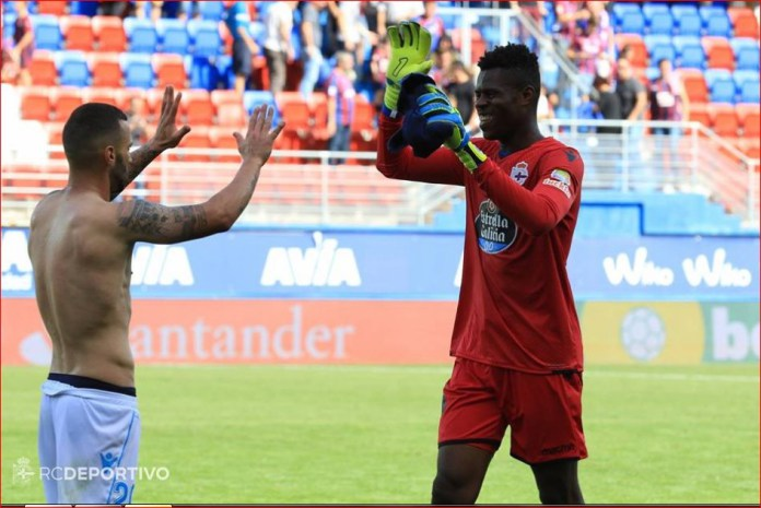 New Super Eagles invitee, Uzoho commits 'blunder' in Deportivo stalemate