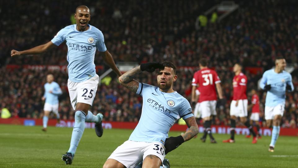 City beats United in Manchester Derby, moves 11points clear