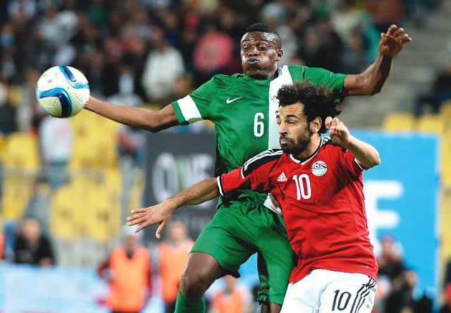 Russia 2018: NFF in talks with Egypt over possible friendly