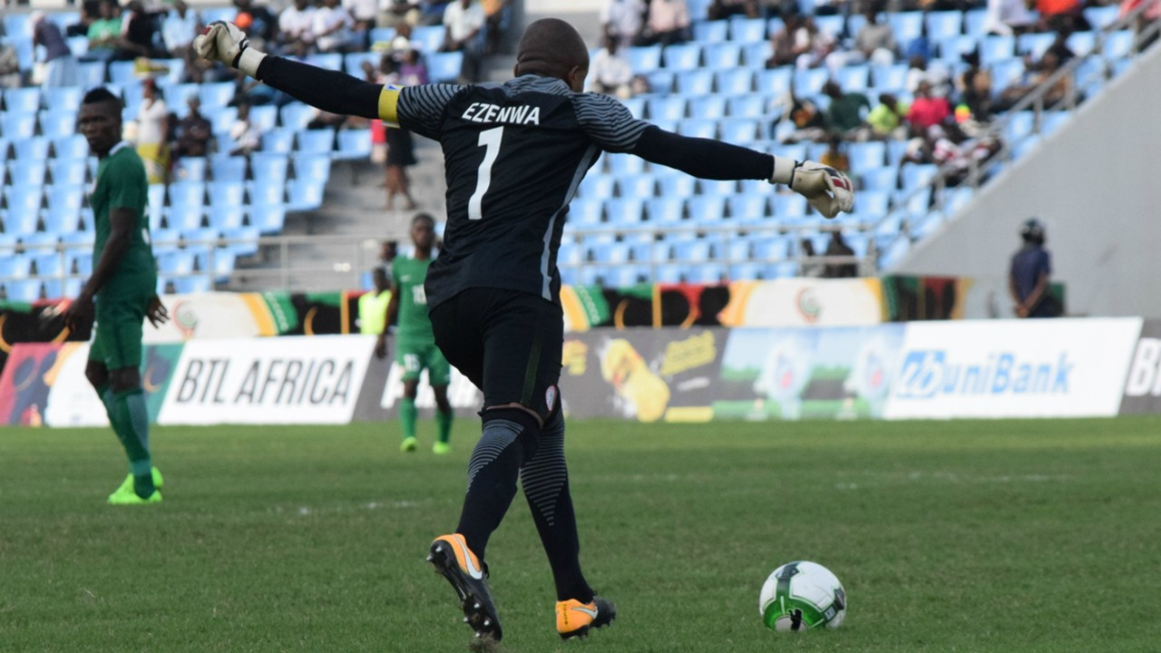 Ezenwa Headlines 23-man CHAN Eagles list