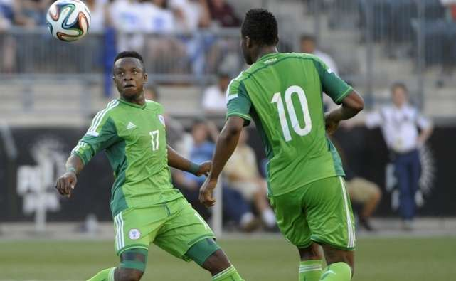 Onazi happy with New Super Eagles Kits ahead of W/Cup