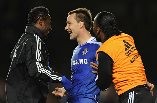 Mikel Receives Cordial Message From John Terry
