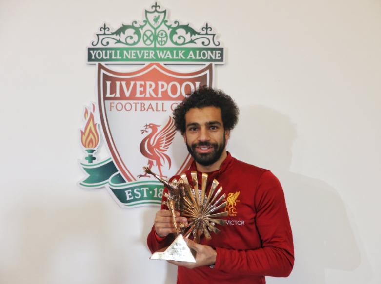 Salah beats Aubameyang, Moses and Co to Best Player Award