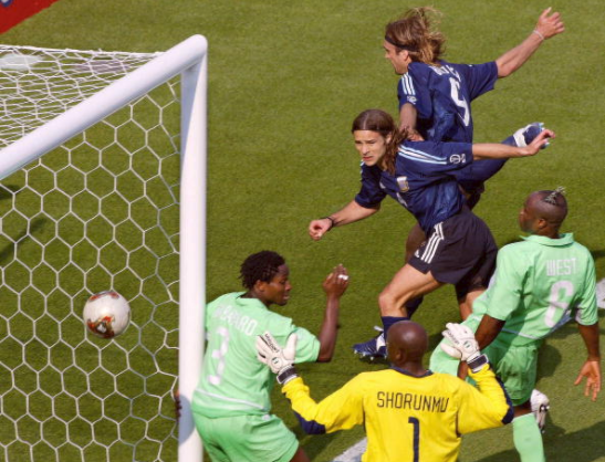 Ike Shorunmu, Argentina, Super Eagles, 2002 FIFA World Cup