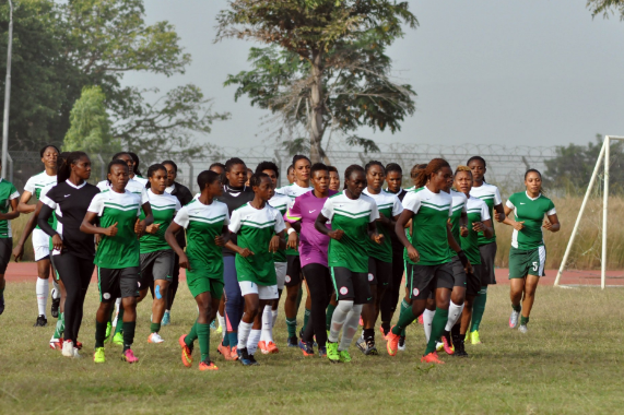 NFF line up shock friendly for Super Falcons