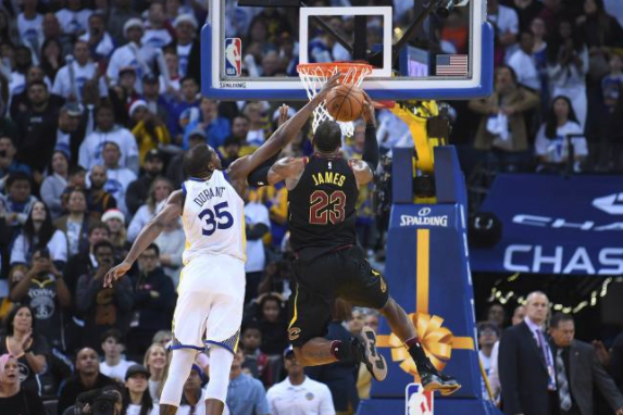 NBA admits refs missed Durant's late fouls on LeBron James