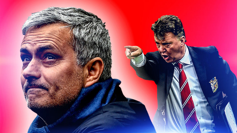"""Van Gaal hits out at Mourinho's """"boring"""" football style"""