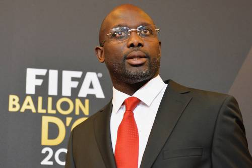 Former Ballon d'Or winner Weah becomes Liberia President
