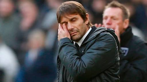 Conte says Chelsea's title race over after Westham loss