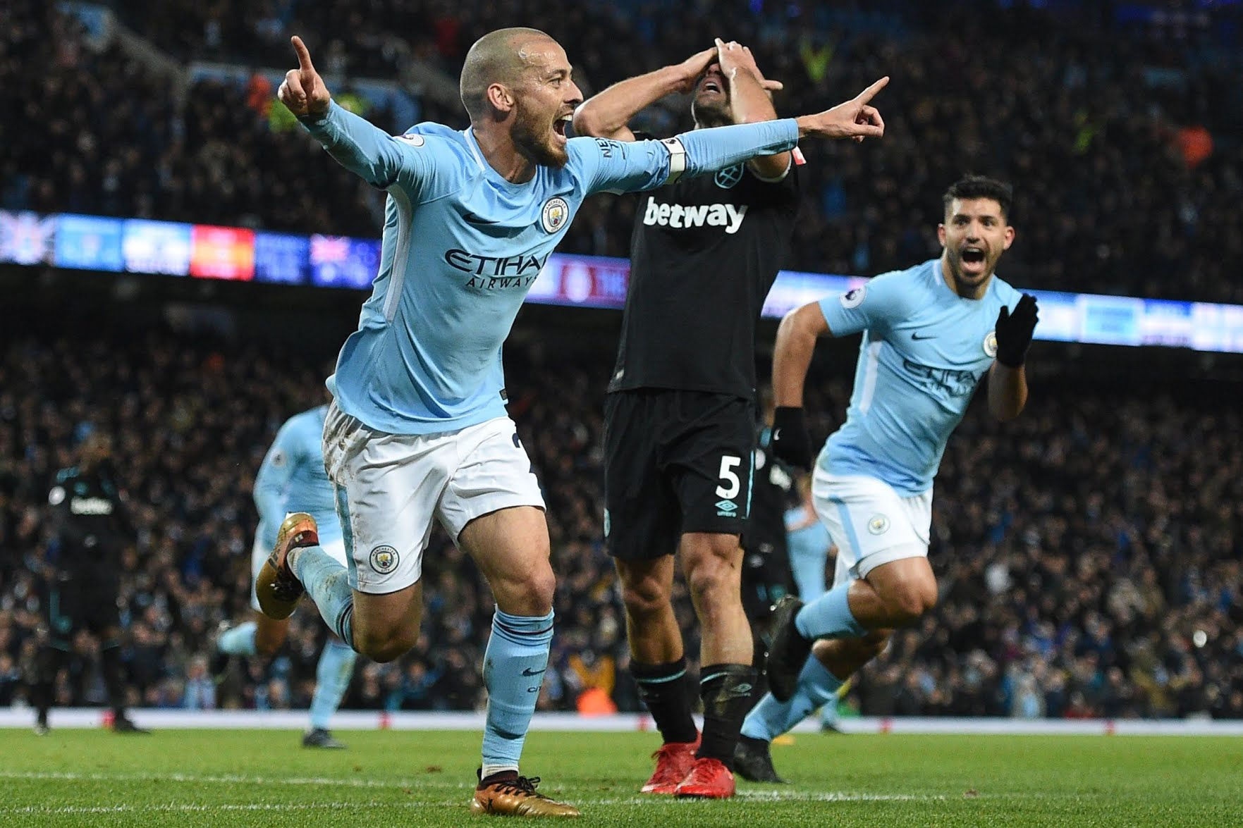 Manchester City equals Chelsea, Arsenal premier League record with West ham win