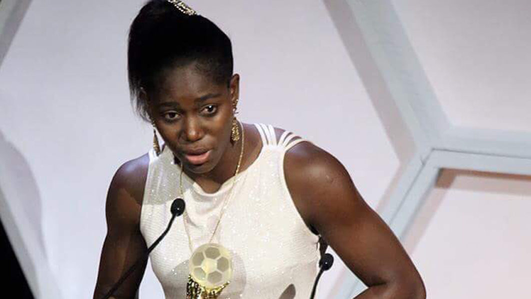 CAF Awards: Oshoala picks up Women's Award as Super Eagles, Rohr & Falconets Misses out