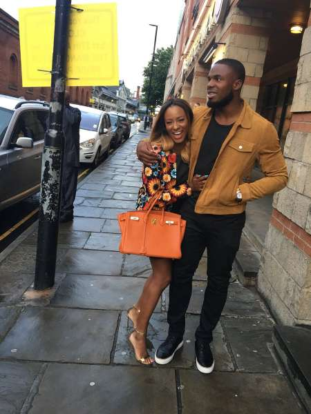 """Victor Anichebe replaces Otedola's daughter DJ Cuppy with new """"white girlfriend"""""""