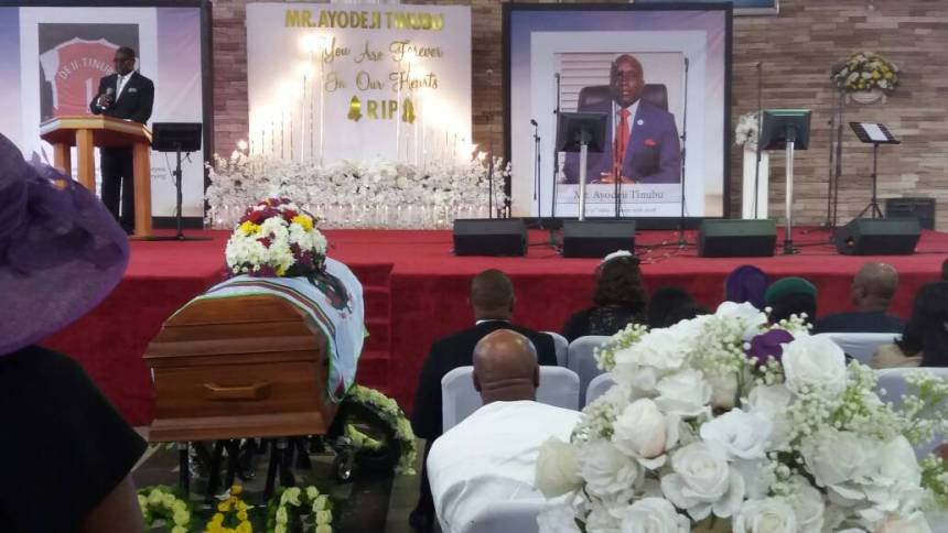 Tinubu Buried Amidst Tears and Encomiums in Lagos