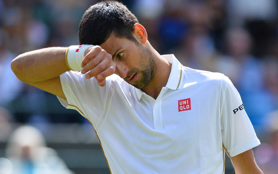 Wimbledon champion Novak Djokovic shares winning tips