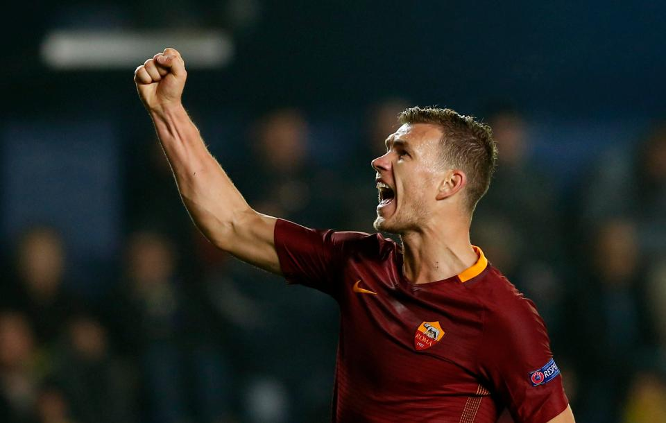 Chelsea agree £52m double deal for Roma pair Edin Dzeko and Emerson