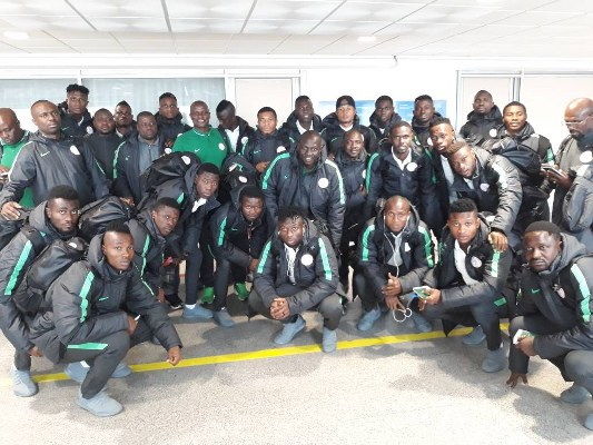 CHAN 2018: Home-based Eagles arrives Morocco ahead of Tournament