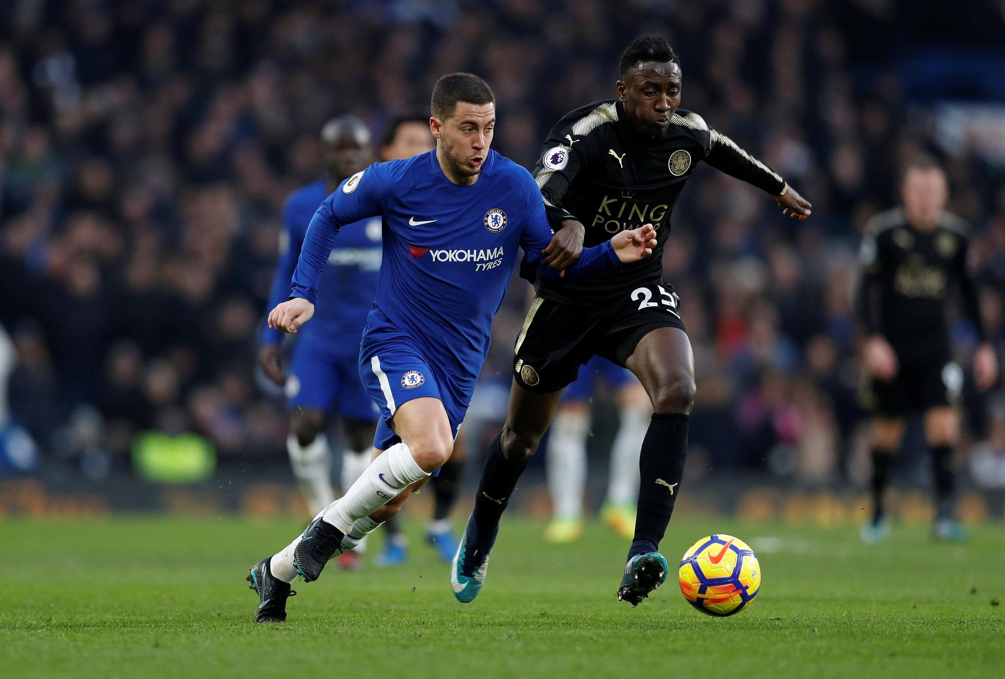 Ndidi stars as 10-man Leicester City hold Chelsea to goalless draw