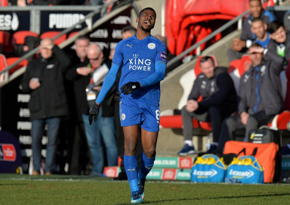 Leicester City to give up on £115,000-a-week Nigerian striker