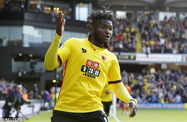 Success substituted in Watford's defeat to Newcastle United