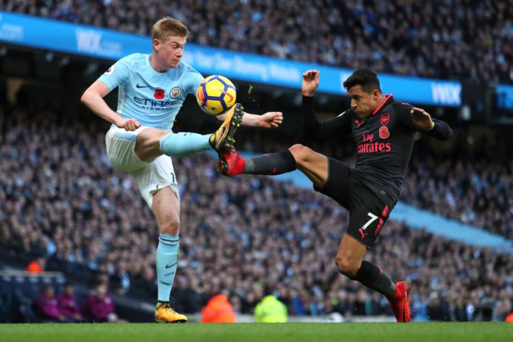 "De Bruyne ""Accidentally"" confirmed Alexis Sanchez will join Man City"