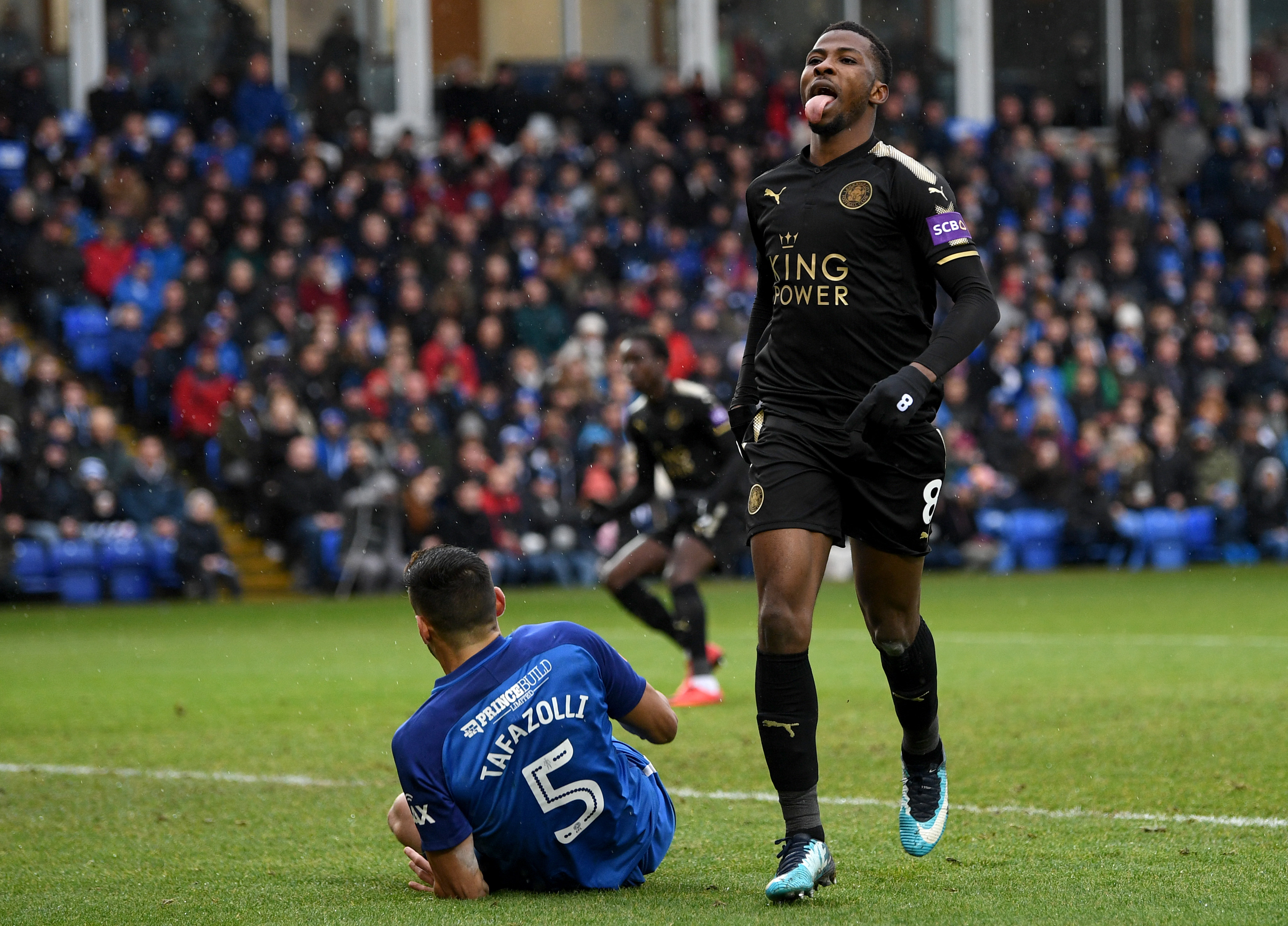 Iheanacho asks to leave Leicester despite breaking Yakubu's FA Cup record