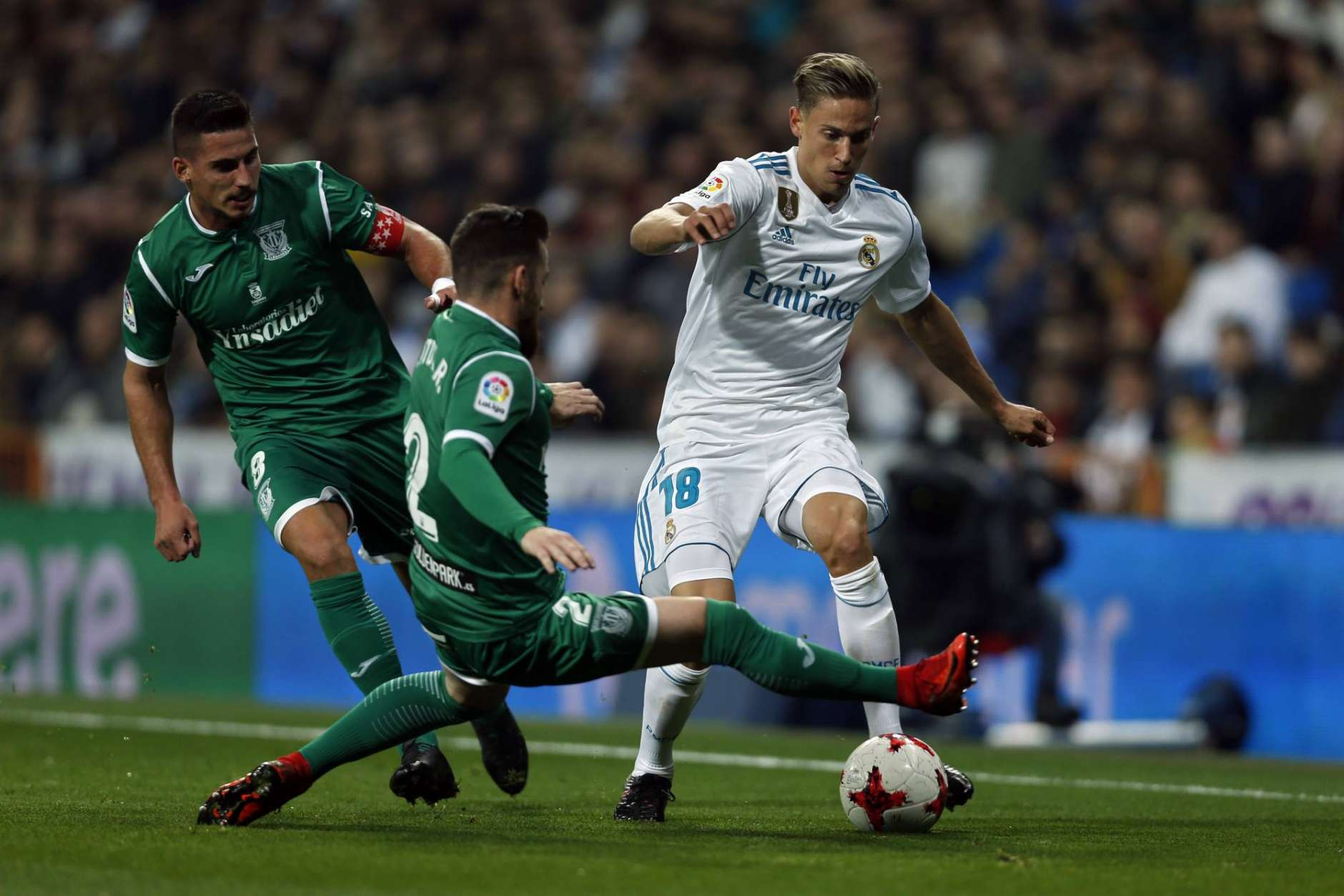 Real Madrid beaten by Leganes at Bernabeu, eliminated from Copa del rey