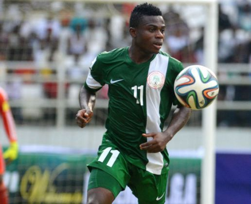 Injured Eagles winger Moses Simon ruled out for six-weeks